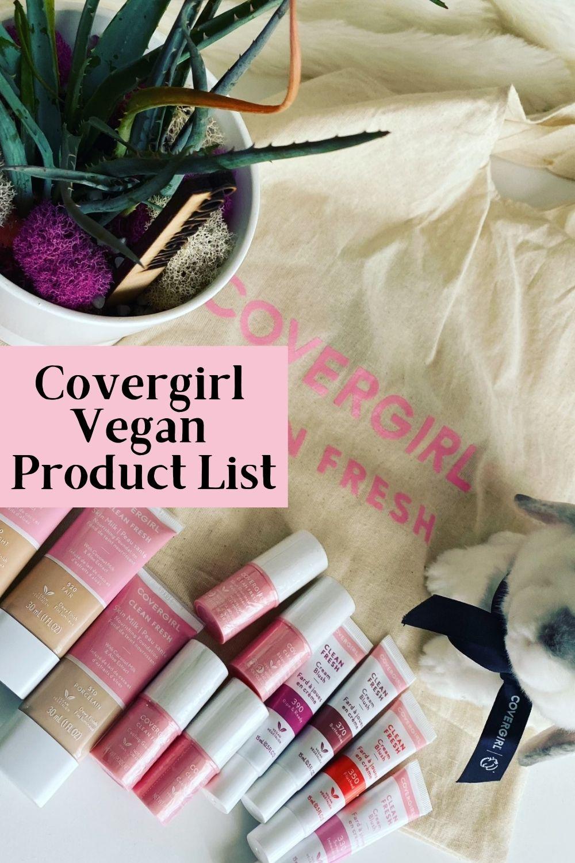covergirl vegan