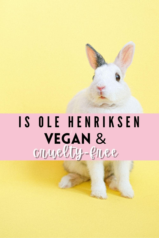 ole henriksen vegan