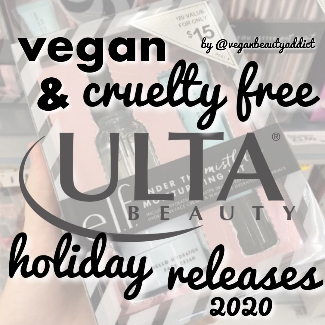 2020 Vegan and Cruelty Free Holiday Beauty Releases
