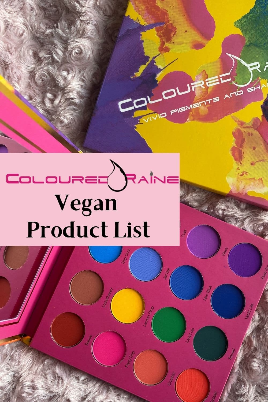 coloured raine vegan