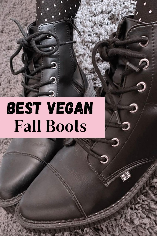 vegan fall boots