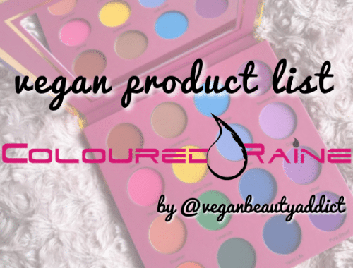 coloured raine vegan
