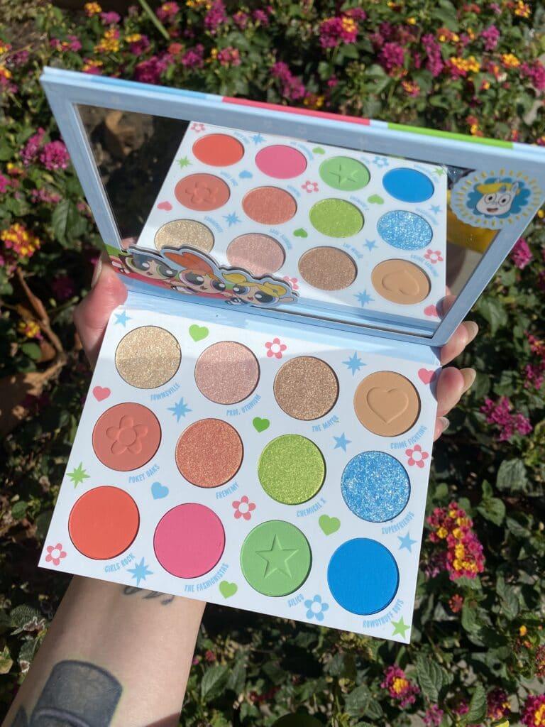 powerpuff girls palette colourpop