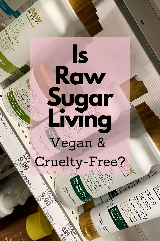raw sugar living vegan