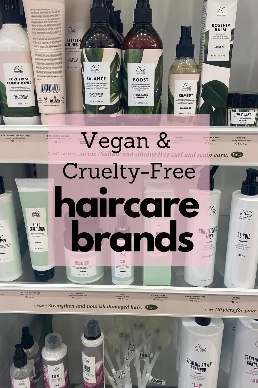 vegan haircare brands